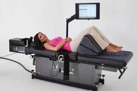 Tratamiento médico informatizado que elimina el dolor lumbar o cervical